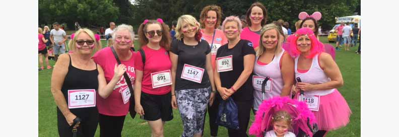 Striding Out For Cancer Research