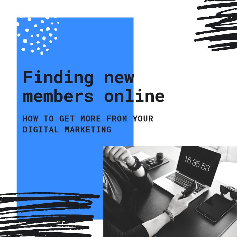 Finding New Members Online