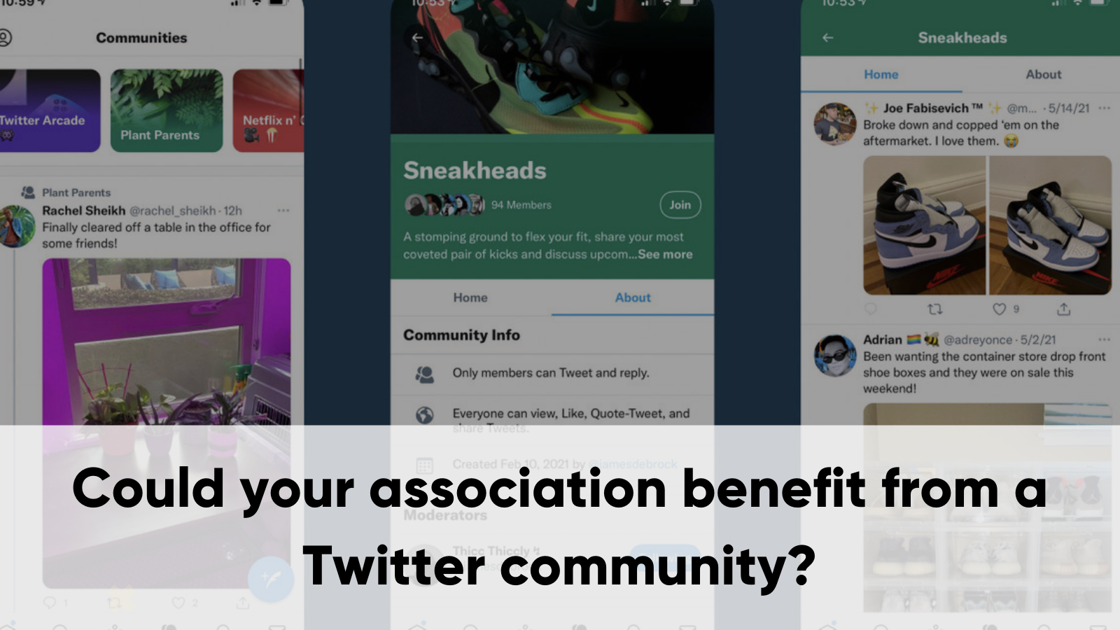 Could Your Association Benefit From A Twitter Community?